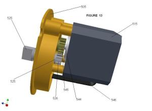 Figure13-Drive Mount Plate & Motor 080804